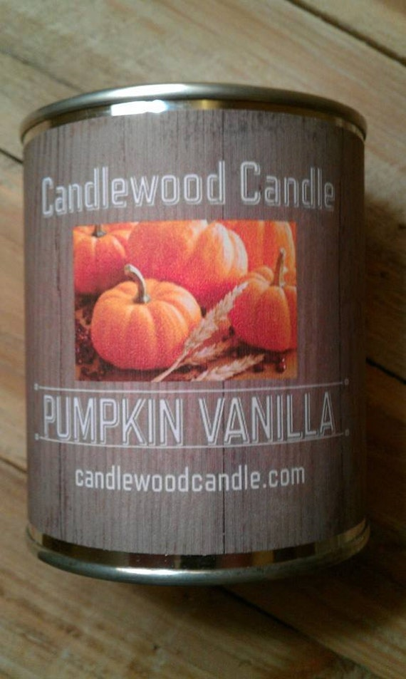 PUMPKIN VANILLA- PERSONALIZED Gift, Gift for Friend, Custom Gift, Send your message, Free Shipping in United States 16 oz