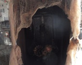 Primitive/Rustic Electric candle Lantern box