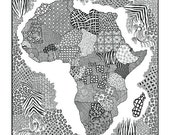 Color it in Africa