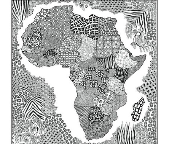 Africa in Silk