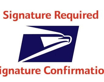 Signature Confirmation for domestic shipments