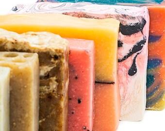Soap Samples, Soap Ends, Soap Sampler, Travel Soap Bar, Mini Soap Handmade, Soap Sale, Guest Soaps, Cold Process Soap for Men, Mens Soap Men