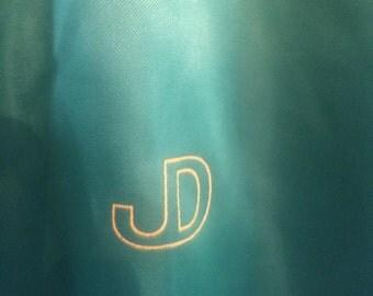 Vintage John Deere Shiny Green Satin Jacket