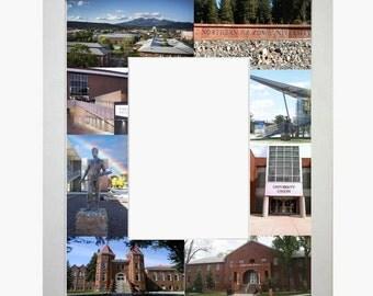 Northern Arizona University Picture Frame Photo Mat Personalized Unique Gift School Graduation