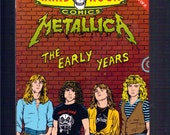 Metalica   Rock And Roll Comic Book