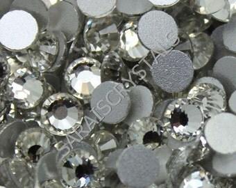 500 pcs Crystal Flatbacks Clear SS16 (3.8-4.0mm) 16ss