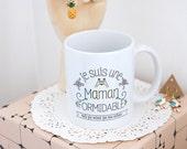The Mug I am a great MOM, personalized mug, mothers day gift