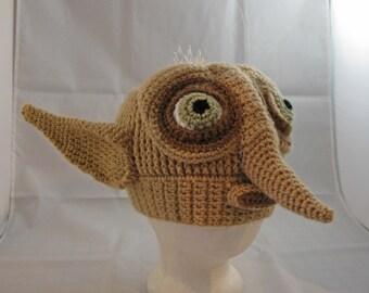 PATTERN: Edgar Elf Crochet Hat - Adult