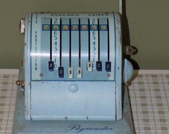Vintage Paymaster S-600 Series 7 Column Check Writer