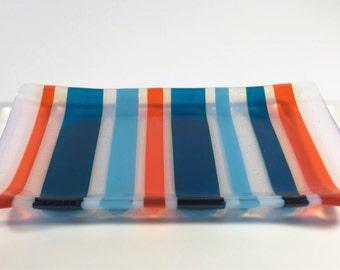 Handmade Fused Glass Tray