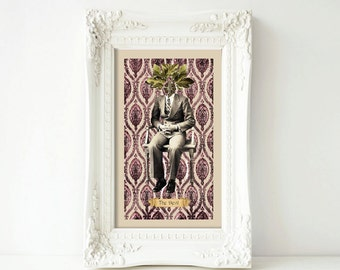 11 x 17 print-The Devil (Fig)—Large Print from Floriography Tarot