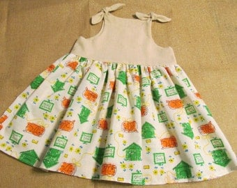 Knot  Dress / Jumper  Toddlers Dress  Doghouse Dress