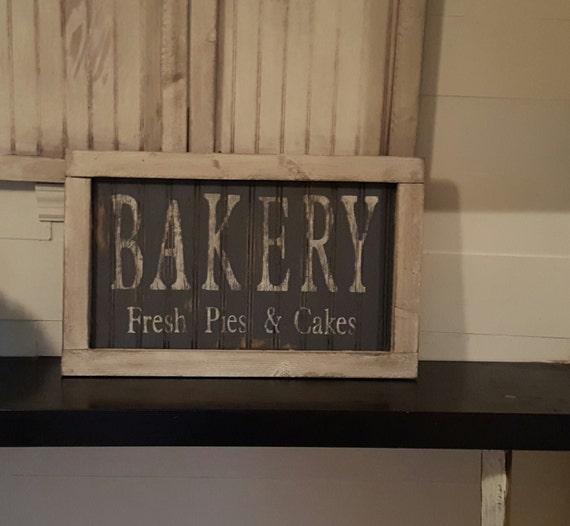 Vintage Look And Distressed Beadboard Bakery