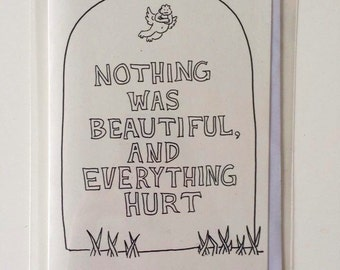 Kurt Vonnegut parody greeting card