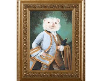 Gifts for Hedgehog Lovers, Hedgehog, Magnet, Hedgehog Gifts, Hedgehog in Clothes