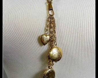 Necklace 1928s Lockets
