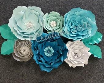 Gaint Paper Flower_backdrop_home decor_nursery decor_
