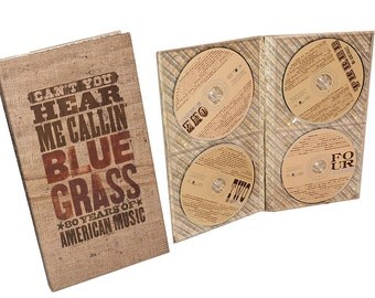 Blue Grass CD Set: Can't You Hear Me Callin' Blue Grass