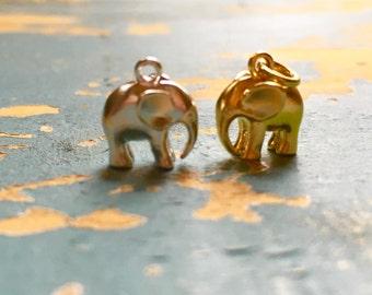 Tiny Elephant Necklace