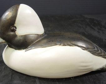 Rare Hard to Find Andersen Pottery Bufflehead Duck Figurine