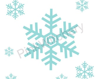 SNOWFLAKE, Snowflake SVG, SNOWFLAKE Border, Snowflake svg file for Cricut Explore, Png and Svg