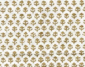 "Drapery Panels handmade using John Robshaw Collection hand blocked Fabric ""Bindi Gold"""