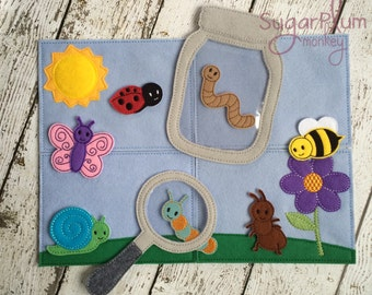 Insect Play Set, Story Board