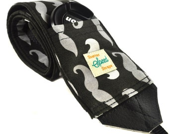 DSLR Camera Strap with Lens Pocket - The Staches