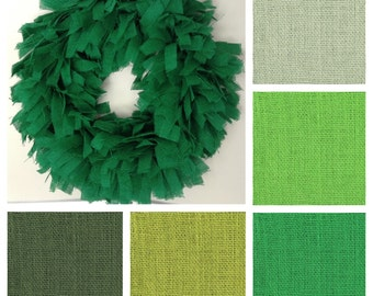 """26"""", Christmas Wreath, Summer Wreath, Burlap Wreath, Green Wreath, Green Burlap Wreath, Christmas Wreath, Burlap Christmas Wreath,"""