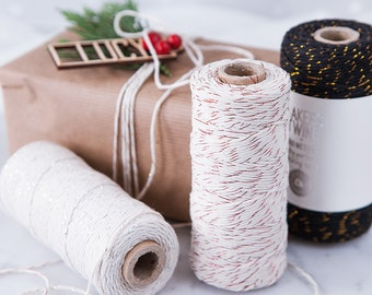 Metallic Cotton Bakers Twine