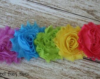 Rainbow Headband Pink headband, White baby headbands, newborn headband, baby hair bows, hair bows girl girls