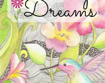 Coloring Dreams Coloring Book