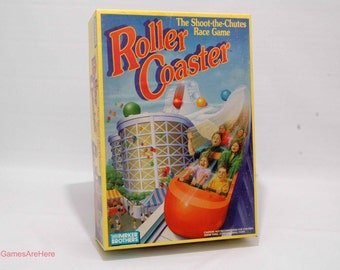 Roller Coaster Game from Parker Brothers 1989 COMPLETE