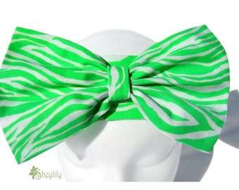 Neon Green Headband for Baby to Girls by Sheylily