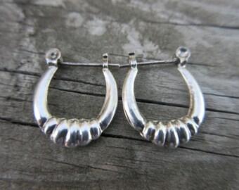 Sterling Silver Pierced Earrings