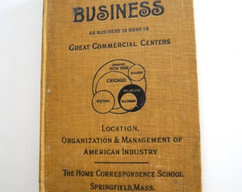 Antique Book, Volume III Business, Great Commercial Centers