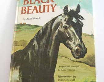 Vintage Children's Book, Black Beauty