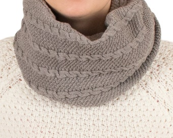 Merino wool infinity scarf - Merino wool scarf - Wool scarf - Infinity scarf