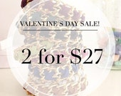 Valentine's Day Sale - Cross Weave - YOUR CHOICE