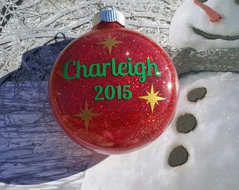 2017 Personalized Christmas Ornament