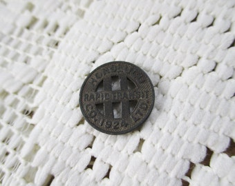 Vintage 1924 Honolulu Rapid Transit Token - From a Hawaiian Collectors Collection - Estate find!
