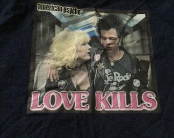 American Psycho Sid and Nancy shirt