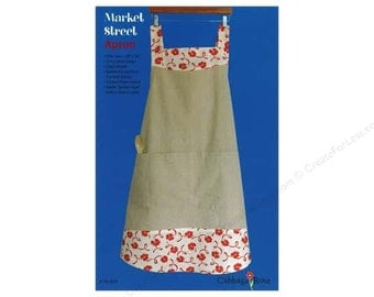 Market Street Apron Sewing Pattern, by Cabbage Rose