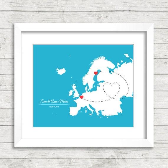 X European Love Map Long Distance Love Umeå Sweden - Sweden map distance
