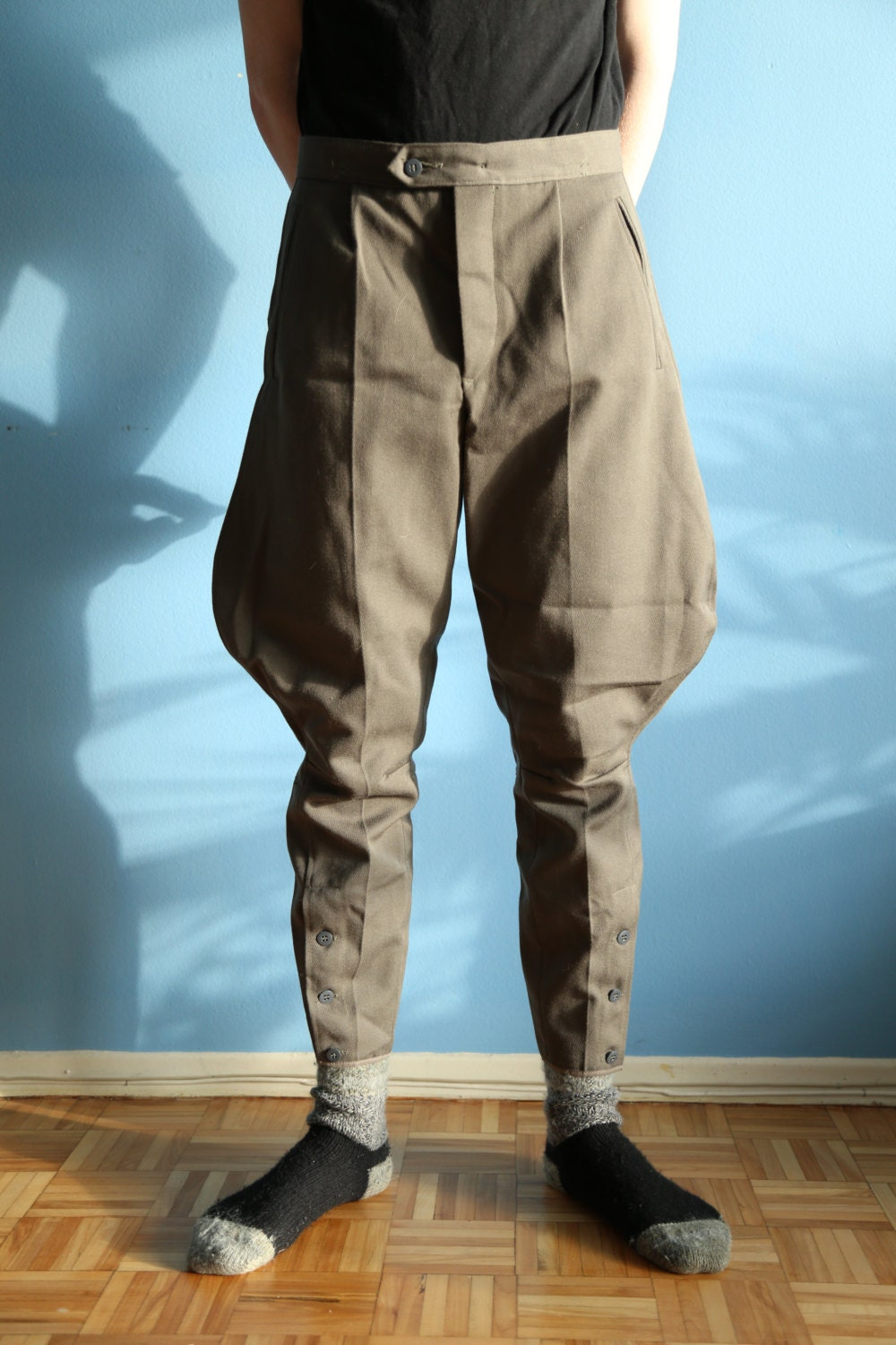 east german wool pants