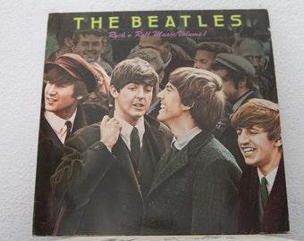 "The Beatles - ""Rock 'n' Roll Music Volume 1"" vinyl record, Belgium Import"