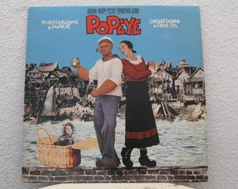 Popeye - Original Motion Picture Soundtrack Album, vinyl record (NT)