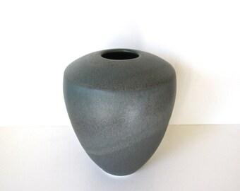 Vintage Modern Studio Pottery Vase, Pacific Northwest Pottery Julie Warwirka Signed Vase