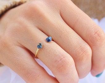 Lapis Lazuli Ring, Boho Ring, Lapis Ring Gold, Gold Ring, Boho Jewelry, Gift for Women