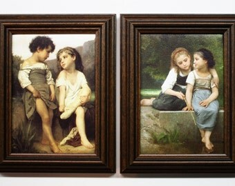 Bouguereau Art, William Adolphe Bouguereau Paintings, Reproduction Art, Framed Art, Framed Bouguereau Art, Bouguereau Children In Paintings